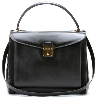 Marc Jacobs THE GRAND MAJESTIC LEATHER TOTE