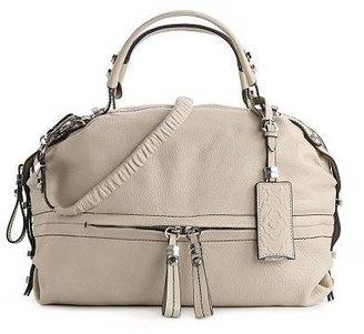 Oryany Holly Leather Base Zip Satchel