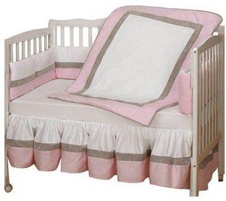 Baby Doll Bedding Classic II Crib Bedding Set - Pink