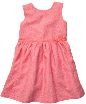 Carter's Sleeveless Lace Dress