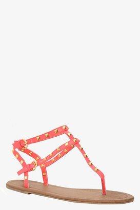 Coral Gladiator Sandals (Wide Width)
