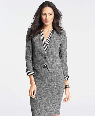 Ann Taylor Tall Tweed Cropped Jacket