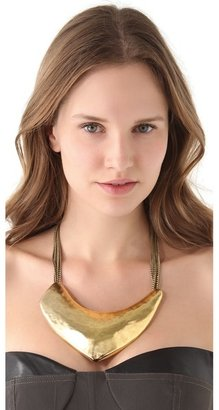 Citrine by the Stones Sipan Bib Necklace