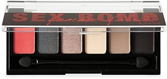 NYX Cosmetics The Sex Bomb Femme Fatale Shadow Palette, 0.21 Ounce $6.89 thestylecure.com