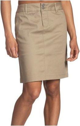 Dickies Juniors Uni Double-Buttoned Twill Skirt- School Uniform