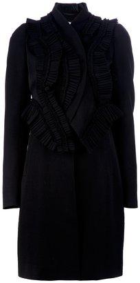 Givenchy ruffle coat