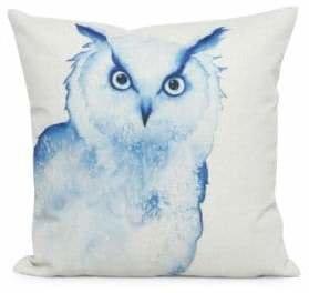 Nema Home Owl Throw Pillow