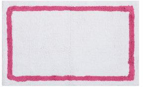 Plush Solutions Border Cotton Bath Rug