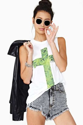 Nasty Gal High & Mighty Muscle Tee