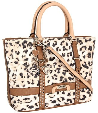 GUESS Caytie Small Carryall (Cognac) - Bags and Luggage