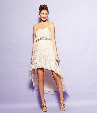 Teeze Me Corkscrew Hi-Low Dress