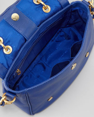 Marc by Marc Jacobs Too Hot To Handle Small Flap-Top Bag, Blue
