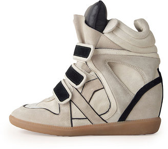 Isabel Marant Willow High-Top Sneaker