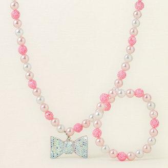 Children's Place Bow necklace/bracelet set