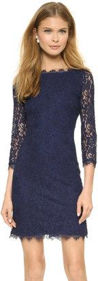 Diane von Furstenberg Zarita Lace Dress $348 thestylecure.com