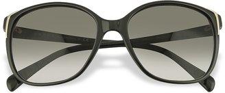 Prada Square Frame Plastic Sunglasses