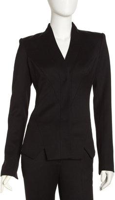 Rachel Zoe Raquel Tuxedo Jacket, Black