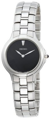 Seiko Women's SFQ833 Affinity Stainless Steel Watch $79 thestylecure.com