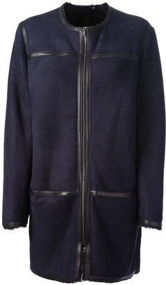 Isabel Marant 'Boyce' lamb fur coat