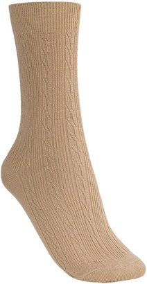 Rockport Trouser Socks - Cable Knit (For Women)