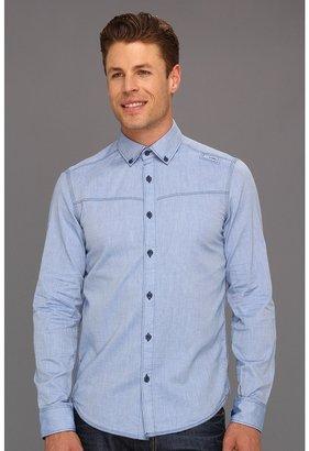 G Star G-Star - Swell Button Down Shirt L/S (Nassau Blue) - Apparel
