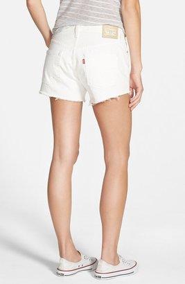 Levi's '501®' Denim Cutoff Shorts (Vintage White)
