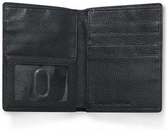 Perry Ellis Men's Leather Passport Case