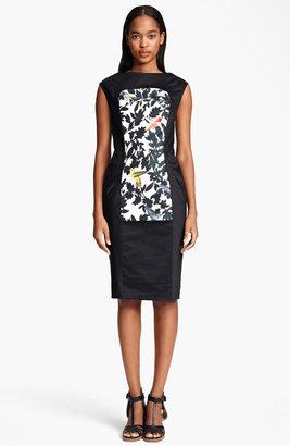 Thakoon Bird Print Sheath Dress