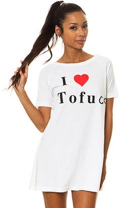 Too Ugly for LA I Heart Tofu Dress