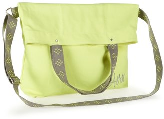 Aeropostale Aero Fold-Over Canvas Tote