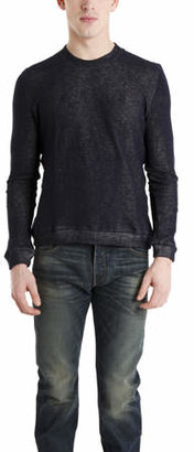Naked & Famous Denim Slim Crew Pullover