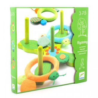 Djeco Rigoloring Ring Toss Game