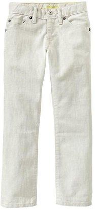 Gap 1969 White Straight Jeans (Black Fill)