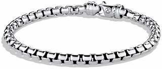 David Yurman Large Box Chain Bracelet