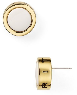 T Tahari Enamel Stud Earrings