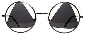 *MKL Accessories The Vintage Triangle Sunglasses