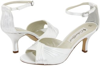 Coloriffics Nola (White Dyeable Satin) - Footwear
