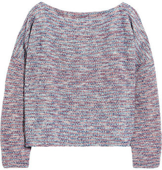 Band Of Outsiders Bouclé knitted sweatshirt