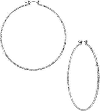Betsey Johnson Large Hoop Earring