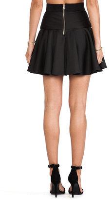 Milly Valencia Short Flare Skirt