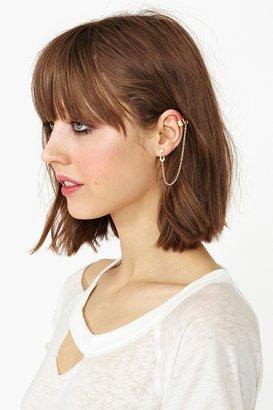 Nasty Gal Pinned Up Ear Cuff