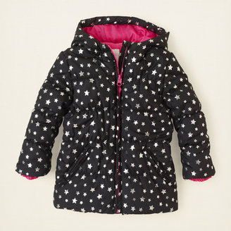 Children's Place Star puffer coat