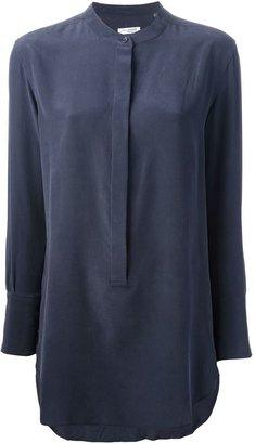 Equipment mandarin collar blouse