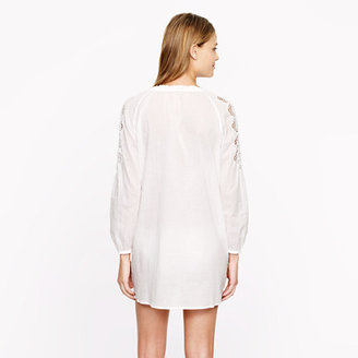 J.Crew Embroidered rope tunic