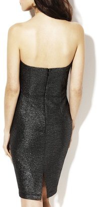 Vince Camuto Strapless Wrap Dress