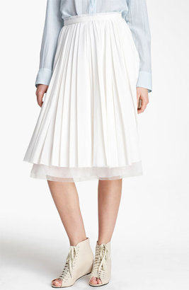 Boy By Band Of Outsiders Pleated Skirt