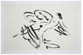 Leda and the Swan 4 by Reuben Nakian (Etching)