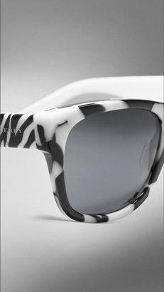 Burberry Animal Print Sunglasses