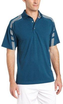 PGA TOUR Men's Short Sleeve Full Swing Printed Polo Shirt