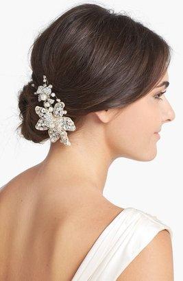 Halo & Co 'Ferrara' Crystal Flower Comb